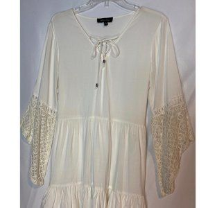 Melissa Paige Boho Cream with Tunic w Bell Sleeves